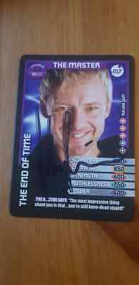 Signed John Simm Dr Who Monster Invasion Card Charity Auction The Master