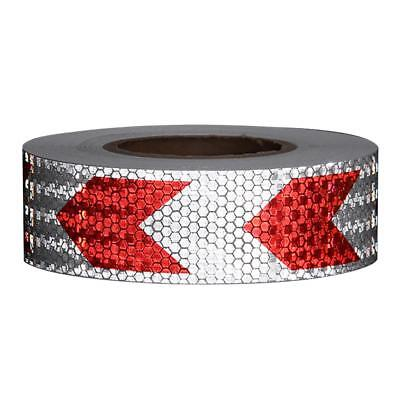 Arrow Safety Warning Conspicuity Reflective Tape Strip Sticker for W8T8