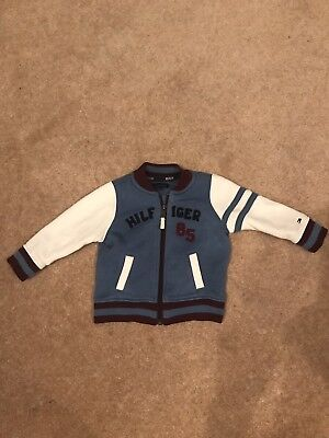 tommy hilfiger Letterman Style Jacket Boys Age 18months