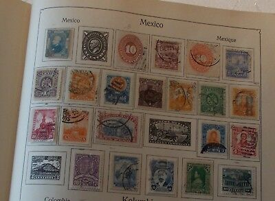 Mexico Alte Briefmarken