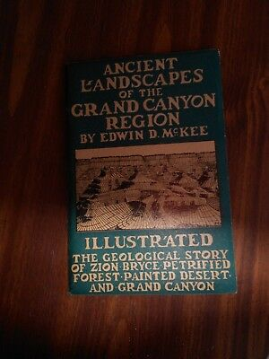 1931 Ancient Landscapes in the Grand Canyon Region Booklet Very Good Edwin McKee