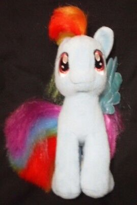 "Ty My Little Pony Rainbow Dash 7"" Plush Blue Pegasus Pony"