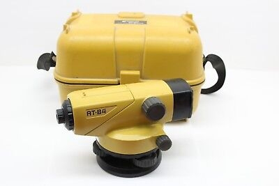 Topcon AT-B4 Autolevel Automatic Auto Level Surveying w/ Carrying Case
