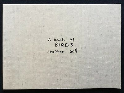STEPHEN GILL A book of Birds 2010 Photobook