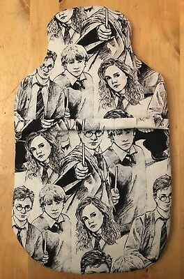 Harry Potter Hot Water Bottle Cover ~With Or Without Bottle ~ Free Uk Postage