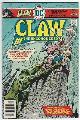 Claw The Unconquered Volume 2 No.7 May-June 1976 DC Comics Good- Condition