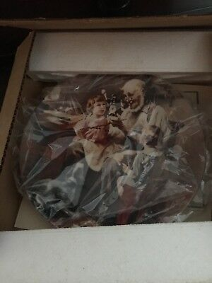 Norman Rockwell Collector Plate  The Toy Maker  MIB w/ COA 1977