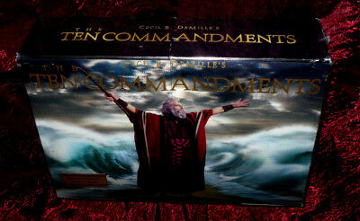 The Ten Commandments (Blu-ray/DVD, 6-Disc Set) Limited Edition Photo Book Sealed