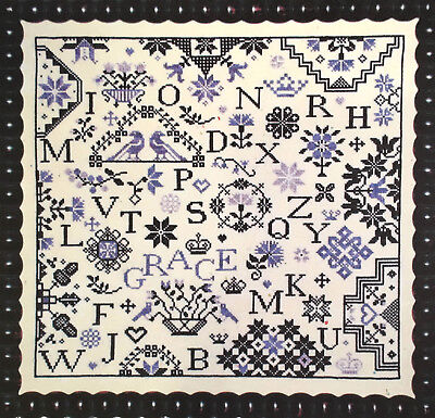 Simple Gifts Kindness Quaker Sampler Praiseworthy Cross Stitch Pattern