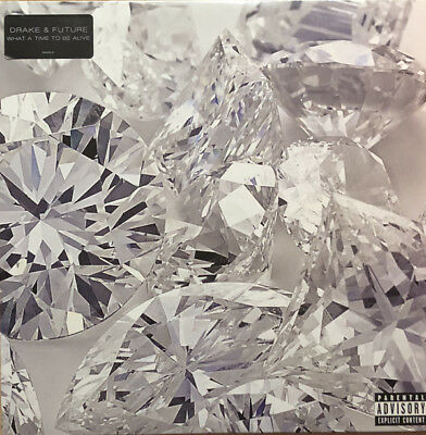 Drake & Future - What A Time To Be Alive LP - Vinyl Album - SEALED - Trap Record