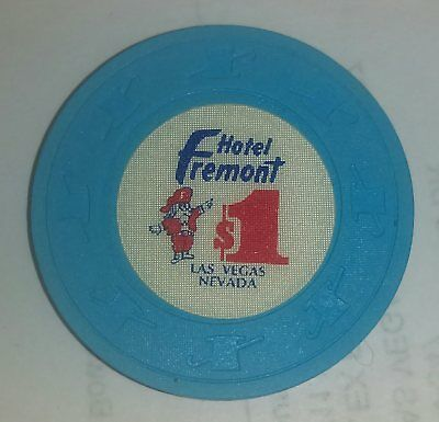 Obsolete $1 Fremont Hotel and Casino chip