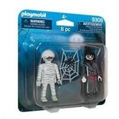 Playmobil 9308 Haunted House Action Figures - Mummy & Grim Reaper