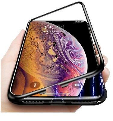iPhone XS MAX X XR Case Metal Luxury Thin Slim Shockproof Cover For Apple Phone