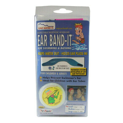 Ear Band-It With Ear Plug Small for Children with Ear Tubes Swmwear Headband