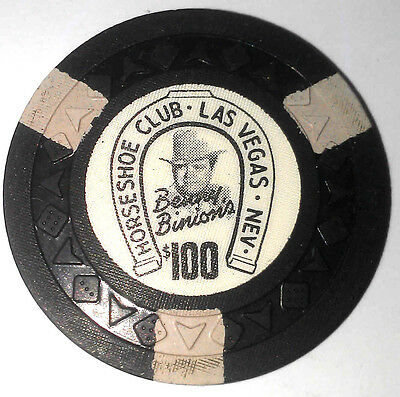 Binion's Horseshoe Obsolete $100 arrow die mold Casino Chip