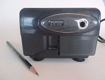 Panasonic KP 310 Electric Pencil Sharpener Auto Stop Suction Base