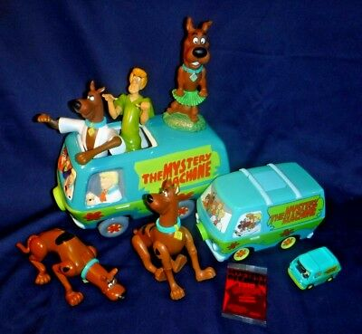 Vintage Lot Scooby-doo Mystery Machine ~Ceramic Cookie Jar~Collectibles~Figures