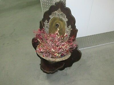 Rare Antique LAVABO Heavy Iron  Garden Fountain Wall Sink Planter San Diego CA