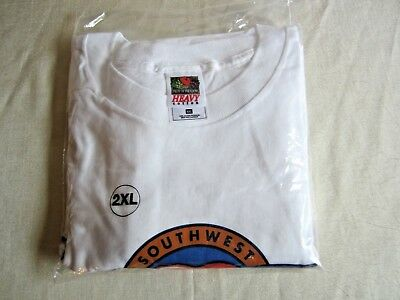 Southwest Airlines 30th Anniversary T-Shirt XXL 1971 - 2001 NOS 30 Years of Luv