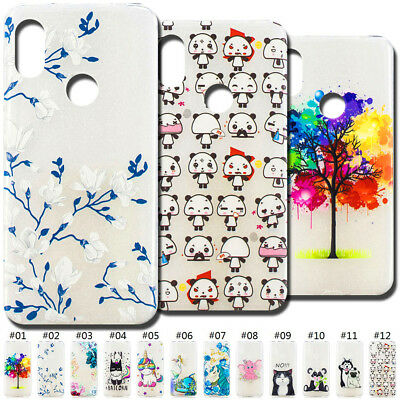For Xiaomi Redmi Note 6 Pro Cute TPU Silicone Case Cover Embossed Soft Back Skin