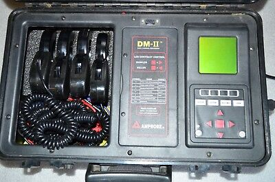 AMPROBE DM-II Electrical DataLogger / Recorder for 1 or 3 Phase