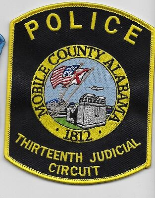 Mobile County Alabama 13th Judicial Circuit Police State AL
