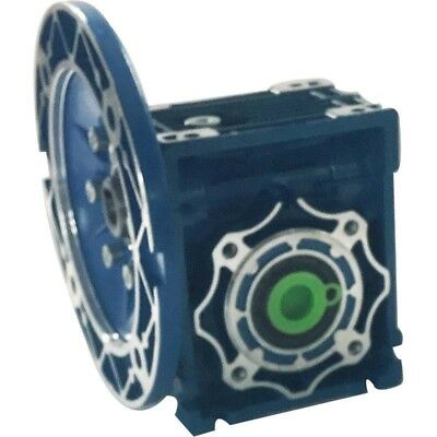 Worm Gear 40:1 RV40 Speed Reducer Gearbox Dual Output Shaft