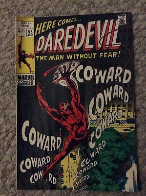 Daredevil #55 August 1969 Cry Coward