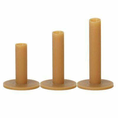 3Pcs Golf Rubber Tees Holder Tee Range Driving Practice Mat Hitting 60 70 80mm