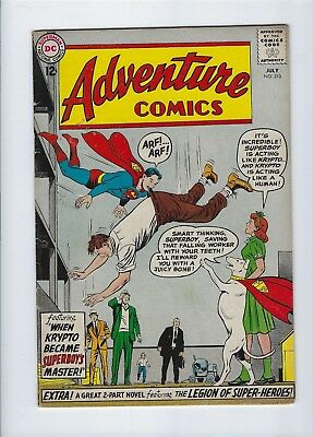 ADVENTURE Comics #310 1963 FINE/VF 7.0 The Legion of the Super Heroes