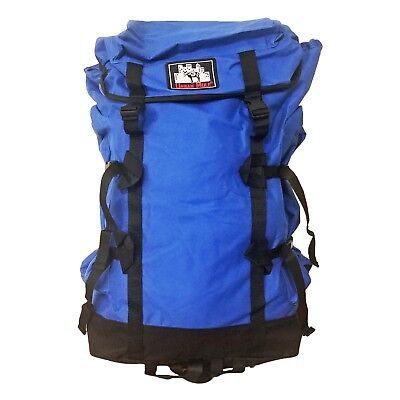 Travel Backpack Extra Large Rucksack for Hiking Outdoor Camping Urban Mule Blue