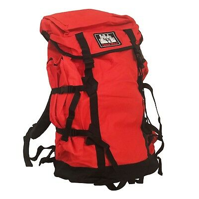 Travel Backpack | Extra Large Rucksack for Hiking Outdoor Camping Urban Mule Red