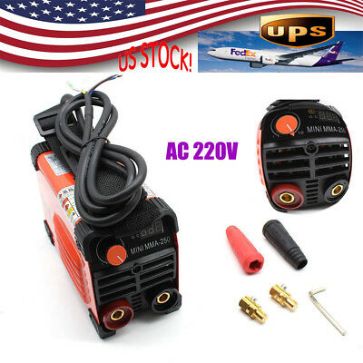 160 AMP Arc Electric Welding Machine Rod Stick Electrode Welder Torch 220V AC US