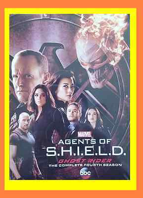 New & Sealed Marvel Agents Of S.H.I.E.L.D Shield Season 4 (5-disc) DVD SET