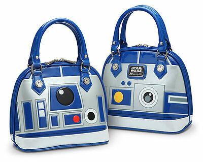 d6242fb39ef0 STAR WARS R2D2 Bowling Bag Style Purse Tote Pocketbook Handbag ...