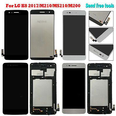 For LG K8 (2017) M210 MS210 M200 LCD Display + Touch Screen Digitizer w/n Frame