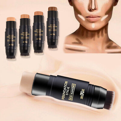 MiXiu Natural Cream Foundation Concealer Makeup Highlight Contour Pen Stick