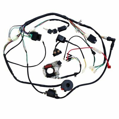 50 70 90 110cc Full Wire Harness Wiring Cdi Assembly Atv Quad