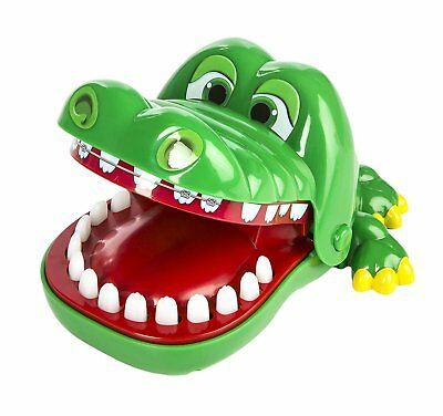 2pc Big Crocodile Mouth Dentist Bite Finger Toy Family Game For Kids Xmas