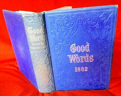 Rare Original Antique Book, GOOD WORDS 1868, Edited By Norman Macleod
