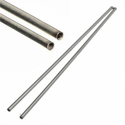 2x 304 Stainless Steel Capillary Round Tube Bar OD 2mm x 1.6mm ID Length 500mm