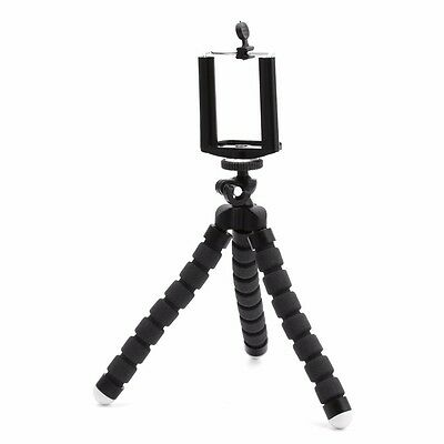 Mini Flexible Octopus Holder Tripod Stand For Digital Camera Canon Nikon Sony