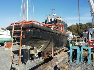 Ex WW2 Tug Boat 'Anna'. L24ft  Beam 7 ft Ford 6 cylinder Dorset Engine 100HP