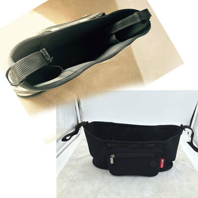 Universal Baby Pram Buggy Organiser Pushchair Stroller Storage Cup Holder Bag