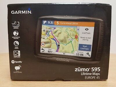 Garmin Zumo 595 LM - Boxed - UK Seller - Fast Dispatch