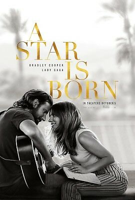 A Star Is Born 2018 Poster Print A0-A1-A2-A3-A4-A5-A6-MAXI C254