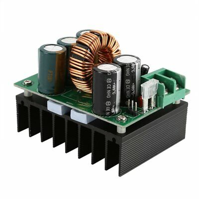 1200W 20A CC/CV Boost Converter DC 8V-60V to 12V-80V Step-up Power Supply QJ