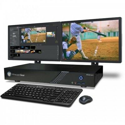 Telestream Wirecast Gear 210 Live Video Streaming Production Hardware
