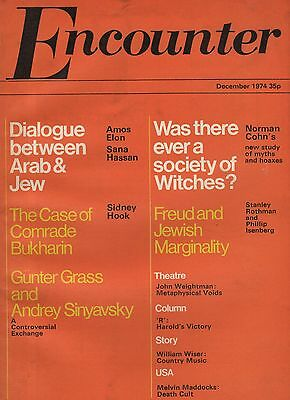 ENCOUNTER MAGAZINE (December 1974)GUNTER GRASS & ANDREY SINYAVSKY-WITCHES-HEANEY