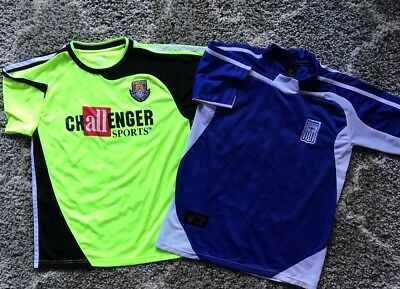 Lot Of 2 Mens Size Small Soccer Jerseys GUC Challenger Sports